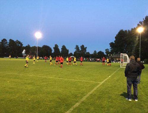 Flutlicht-Spiel in Wissingen gegen den SV Bad Laer