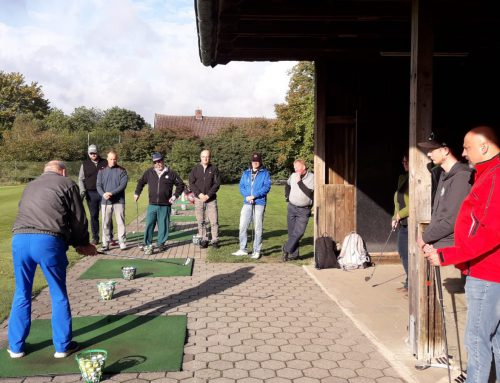 Jugendtrainer on Tour – Schnuppergolf auf historischem Grund