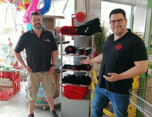 Neueröffnung – Fan Artikel vom SVW in der Wissinger Mühle und bei Marens Lotto Leben