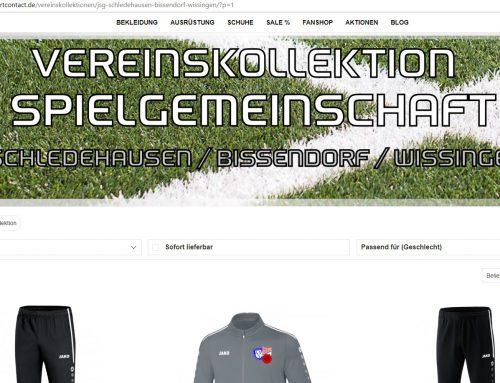 Jugendfussball – Neuzugang #3 und ein Online-Shop für die JSG