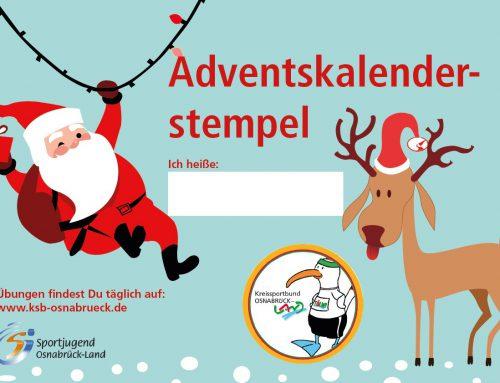 Tölwi Adventskalender für Kinder vom Kreissportbund